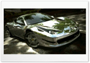 Ferrari 458 Italia Chrome