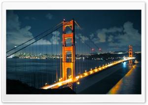 Night Golden Gate Bridge