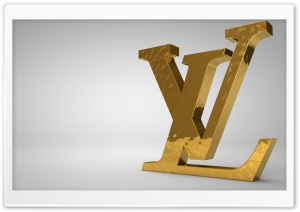 Louis Vuitton Golden Logo