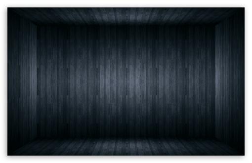 Download Black Wood Room UltraHD Wallpaper