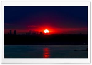 Sunset at Istanbul-Turkey