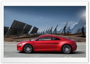 Audi E Tron Electric Car